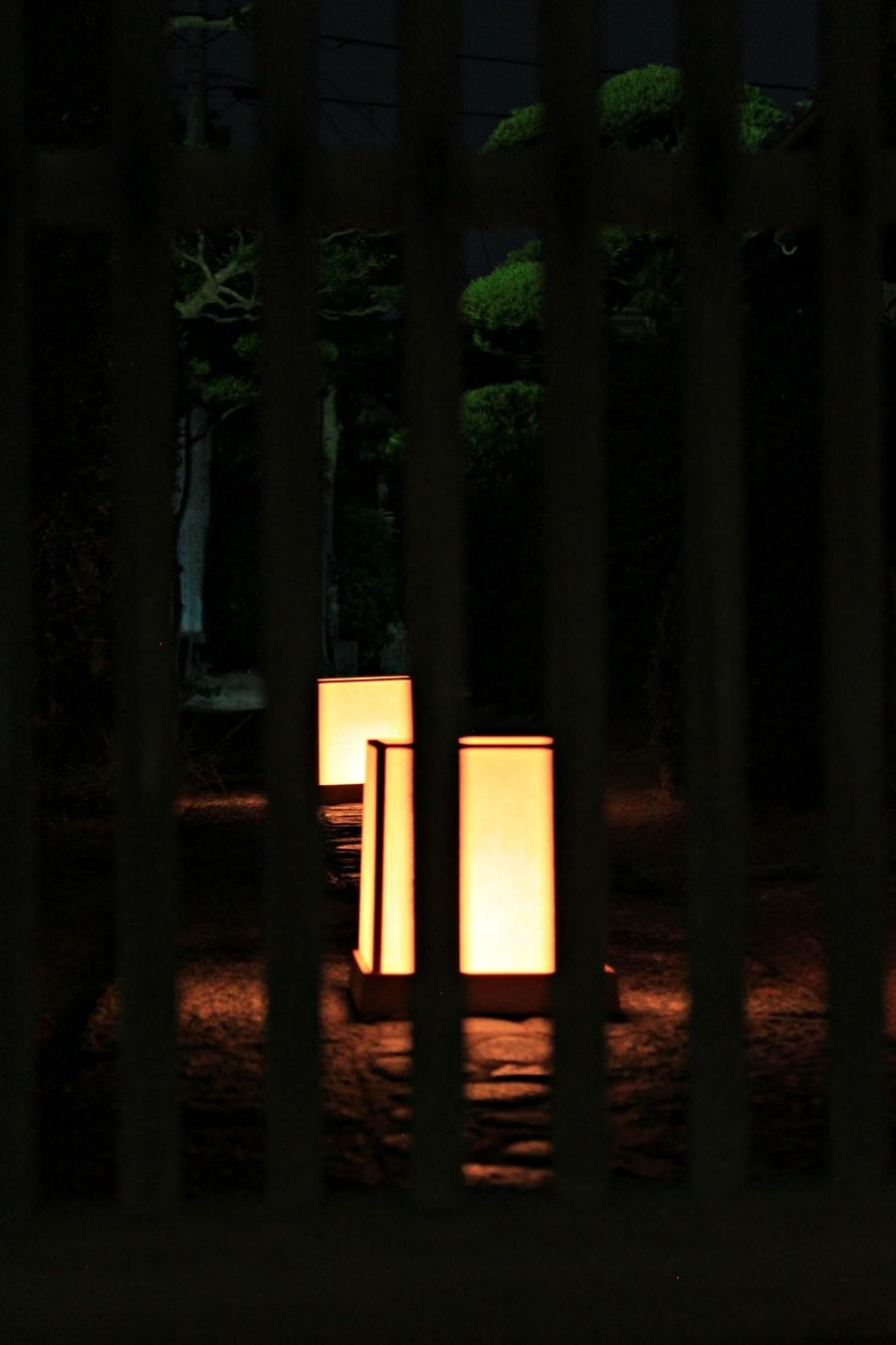 萩・竹灯路2011