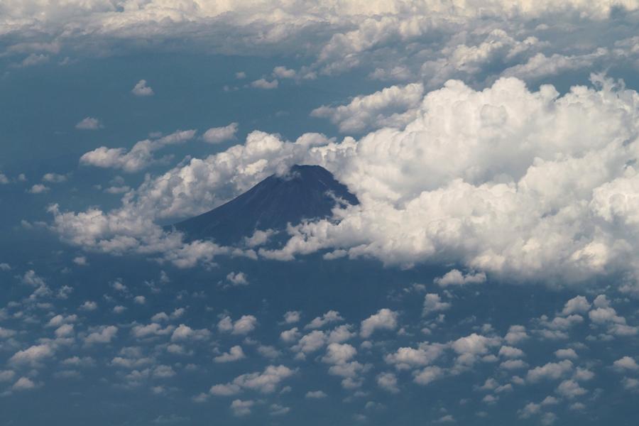 定番、富士山