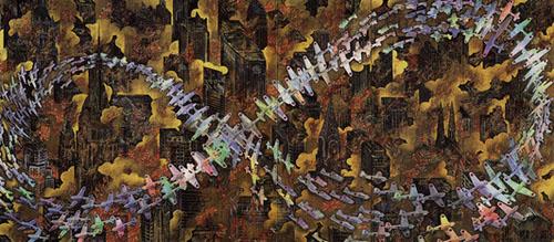 会田誠 紐育空爆之図(1996年)