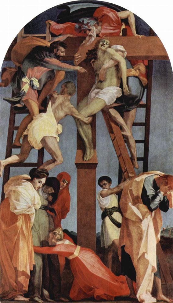 Rosso Fiorentino. Deposition. 1521ブログ