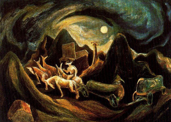 Go West (Jackson Pollock - 1938)
