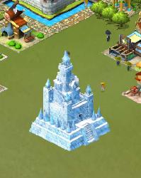 氷の城を建てる