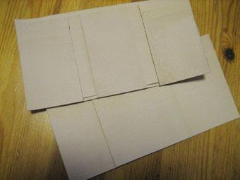 三つ折り財布試作