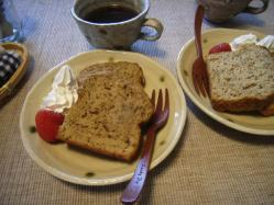 紅茶パウンドケーキ
