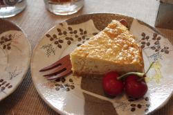 お茶菓子キャラメルバナナチーズ