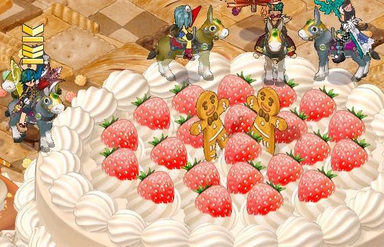 ケーキでけええええええええ
