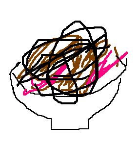 カツクリームの絵
