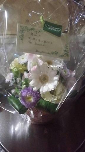 福ちゃんへのお花1