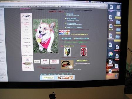 旧bgk ホームページトップ2画面