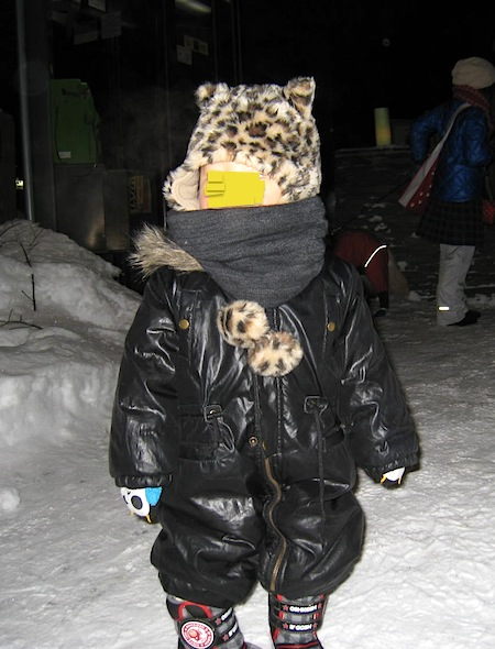 雪明かり右京