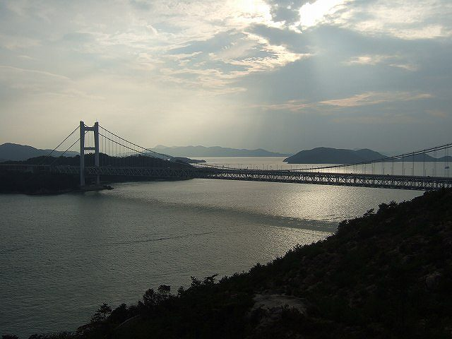 鷲羽山から瀬戸大橋