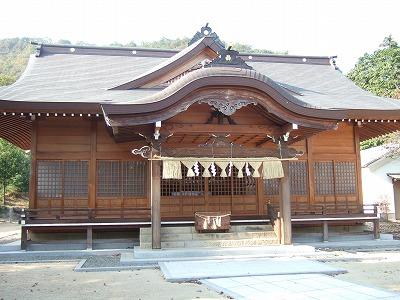 清田八幡拝殿