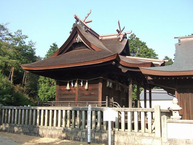 清田八幡本殿