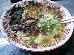 豚骨ラーメン(550円)