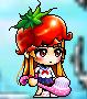 トマト帽子かぶったキキ