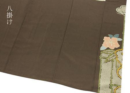 正絹振袖着物襦袢付き