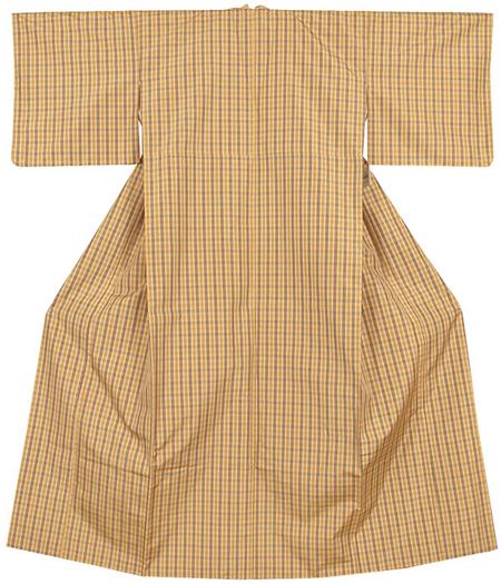 羽織付き紬着物