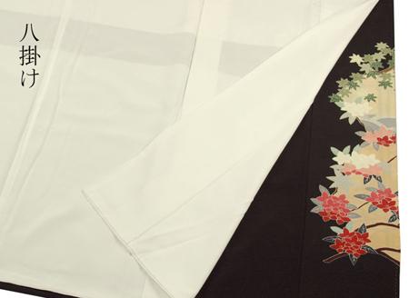 正絹黒留袖着物
