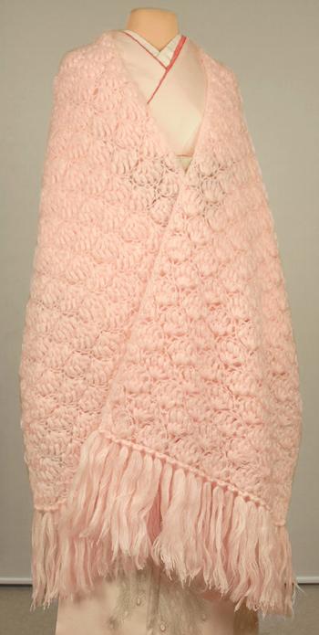 ミンクの毛皮ショール