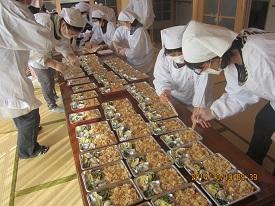 1018松茸弁当3 ブログ