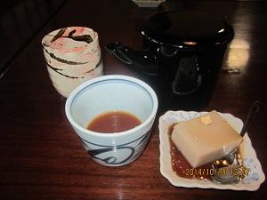 1018 蕎麦湯とそばゼリー ブログ