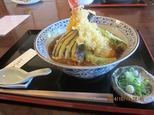 1018天ぷら蕎麦 ブログ