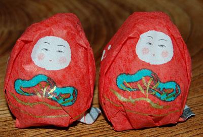 姫達磨菓子