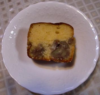 栗ケーキ 2