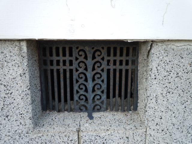 茂原昇天教会 通気孔
