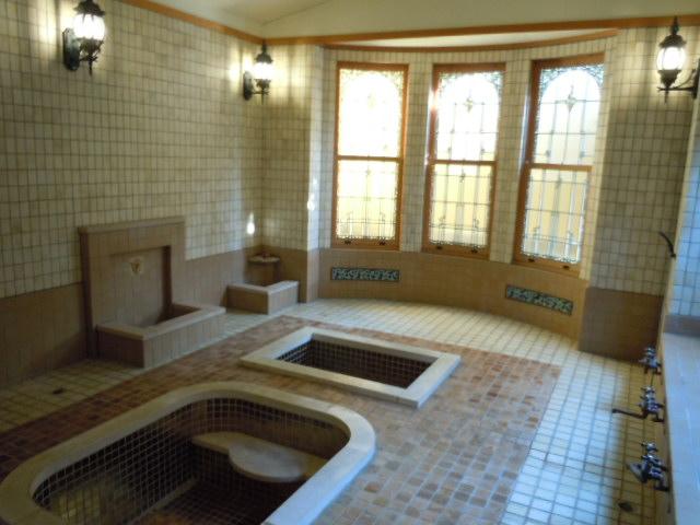 起雲閣 ローマ風呂