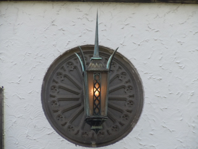 旧李王家東京邸 車寄せライト