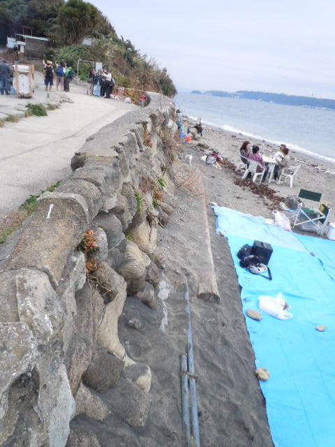 猿島 石垣