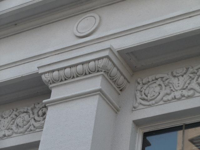 旧足利銀行栃木支店 柱