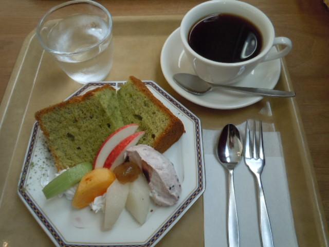 CAFE15 抹茶シフォン
