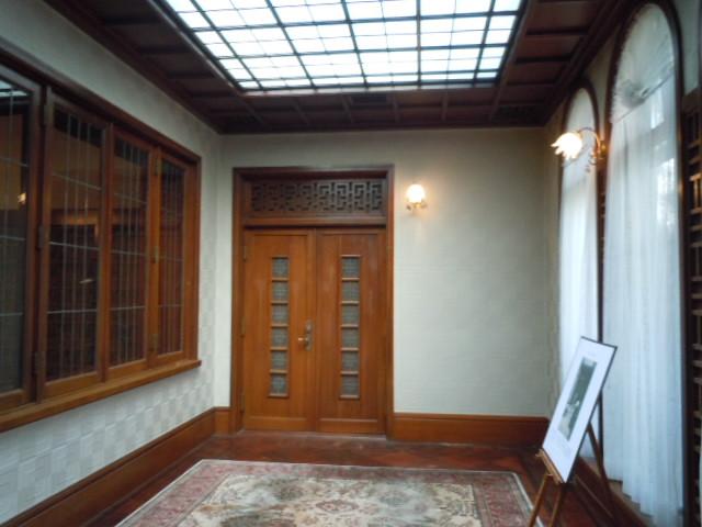 旧李王家東京邸 2階ヴェランダ