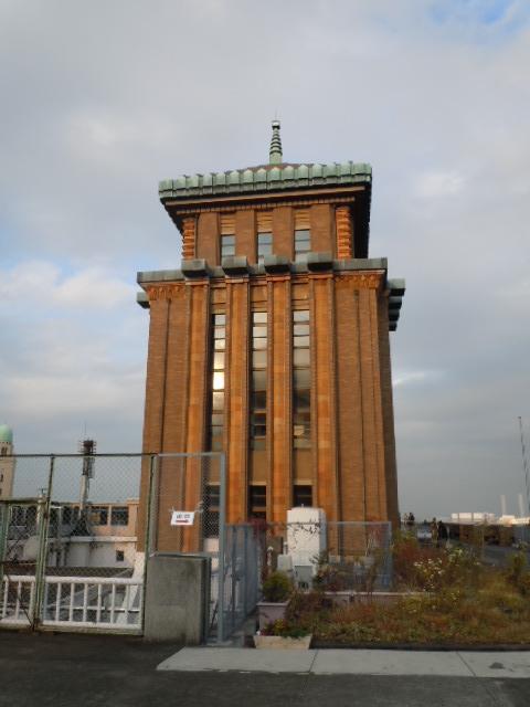 神奈川県庁本庁舎 塔部分