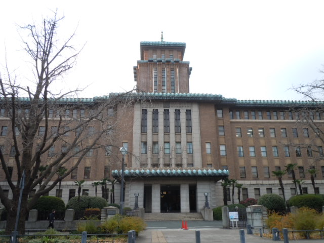 神奈川県庁本庁舎 正面