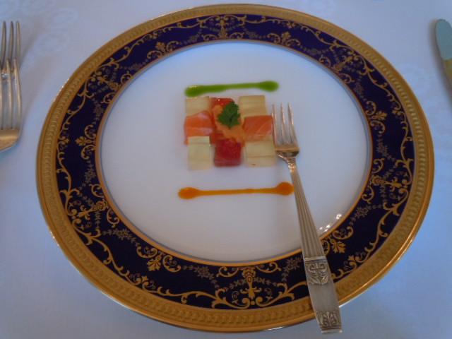 お食事前の小前菜