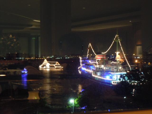 ル・ノルマンディ 窓からの眺め
