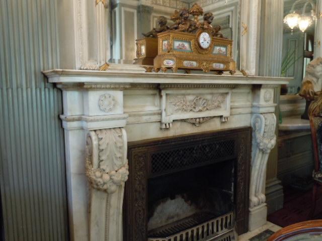 ル・シェールの暖炉