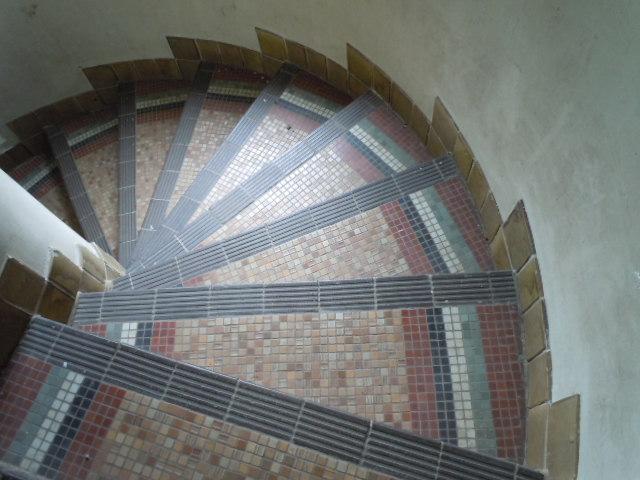 グリーンハウス 1階への階段