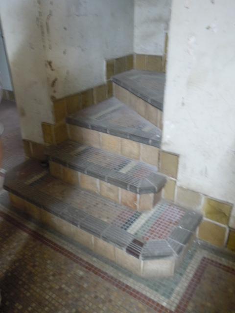 グリーンハウス 2階厨房へ繋がる階段