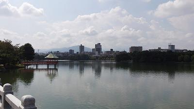 大濠公園池