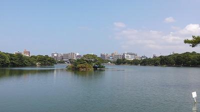 大濠公園池2