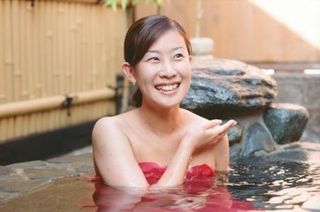 露天風呂ウェアー「ゆゆぎ」