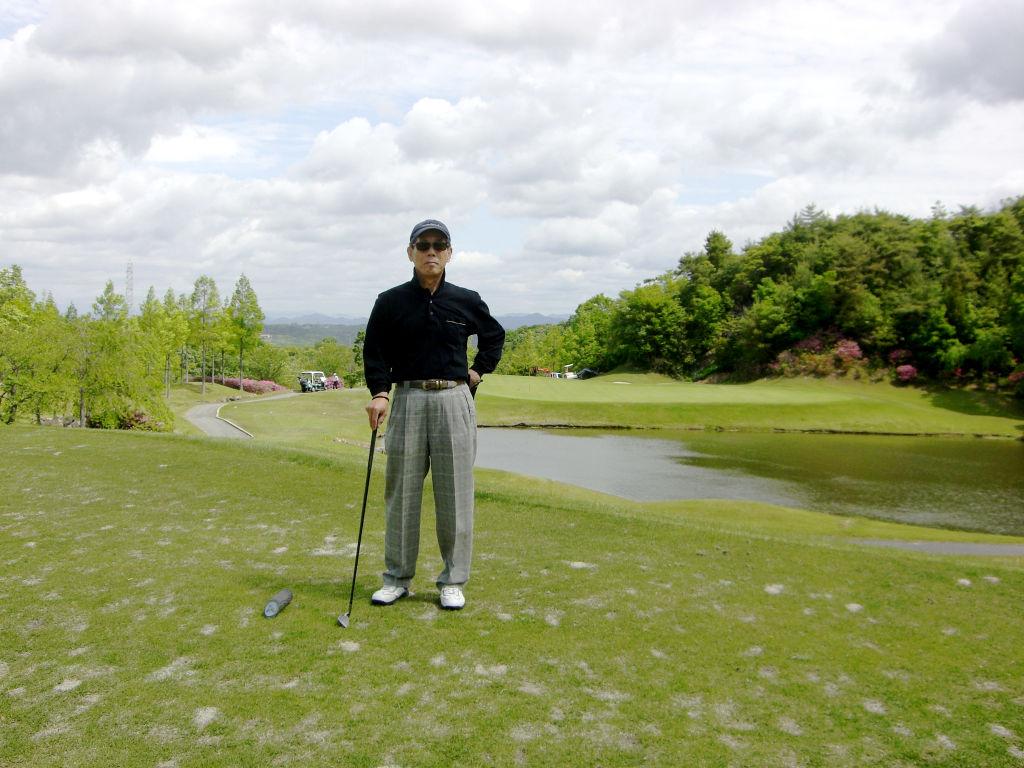 近赤君とゴルフ