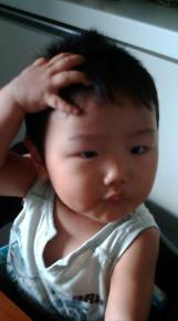 【帽子】小倉ひろき君 1.2ヶ月