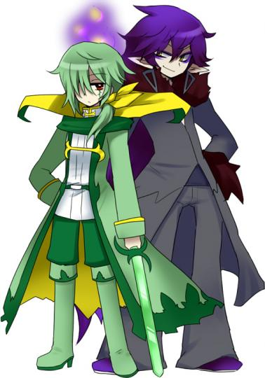 レイとアルヴァ