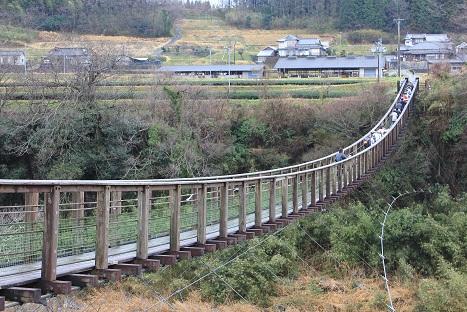 原尻の滝吊り橋