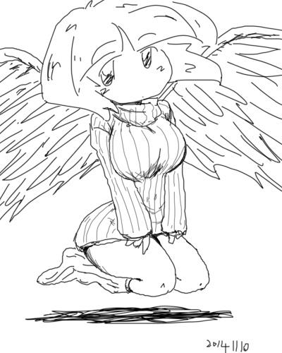 2014年11月10日羽根子さんセーター